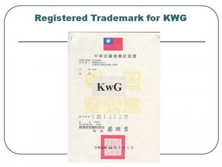KWG علامت تجاری