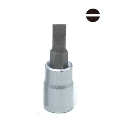 Slotted Socket Bit - Slotted Socket Bit, Bit Socket