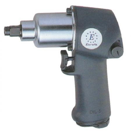 "2 in 1. 1/4"" Hex. and 1/2""Dr. Super Duty Air Screwdriver& Air Wrench (Jumbo Hammer)"