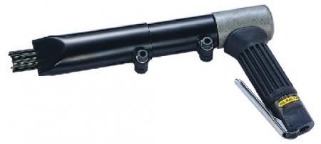 Air Needle Scaler (3700BPM, dia.2mm x29pcs, dia.3mm x19pcs) - Air Pistol Grip Needle Scaler