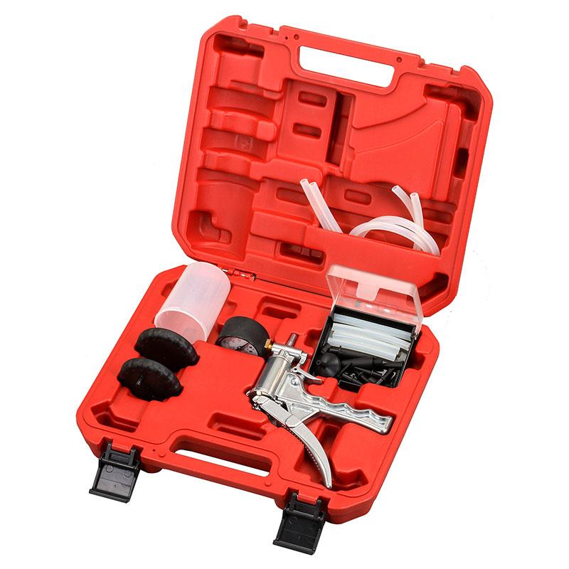 Vacuum Pump and Brake Bleeding Kit - Vacuum Pump and Brake Bleeding Kit
