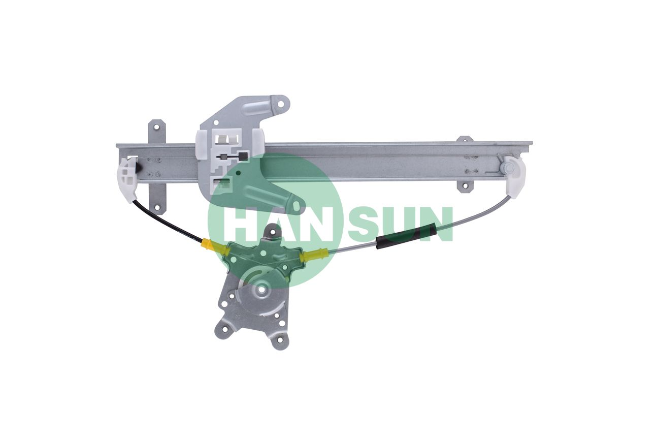 1997 Nissan Sentra Sedan Rear Right Power Window Regulator Assembly - For 1997 Nissan Sentra Rear Right Window Regulator