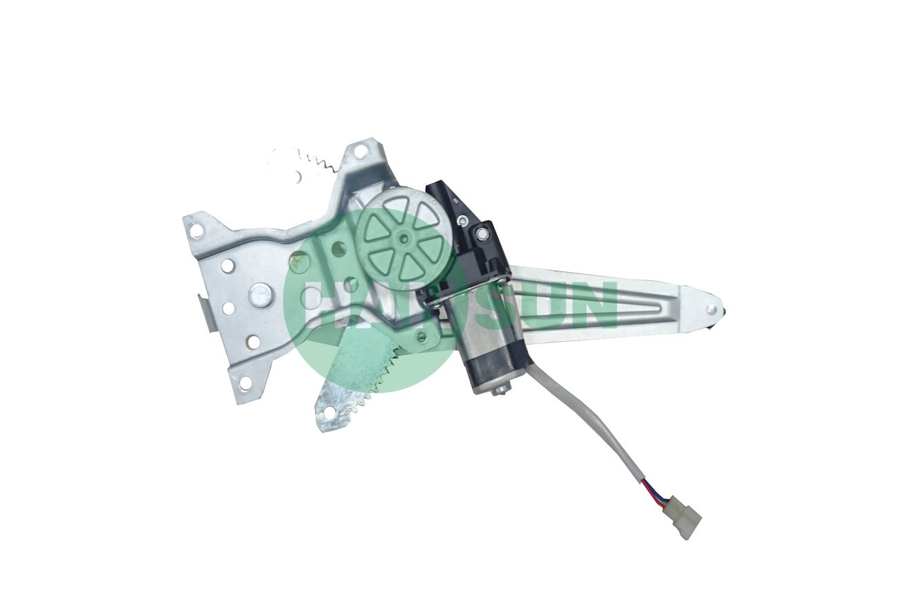 1992 Toyota Land Cruiser Sport Utility Rear Right Power Window Motor and Regulator Assembly - For 1992 Toyota Land Cruiser Rear Right Window Regulator
