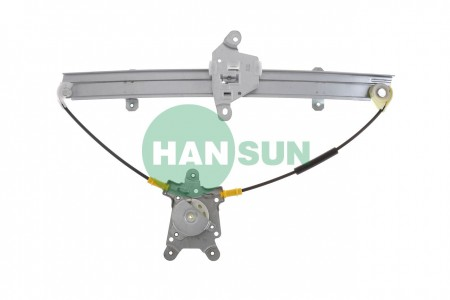 1992 Nissan Sentra Sedan Front Right Power Window Regulator Assembly - For 1992 Nissan Sentra Front Right Window Regulator