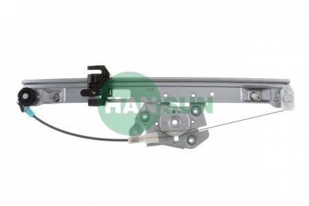 2006 BMW 330i Sedan Rear Left Power Window Regulator Assembly - For 2006 BMW 330i Rear Left Window Regulator