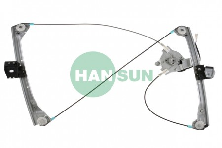 HANSUN 8850-0082 Front Right Side Power Window Motor and Regulator Assembly - 2000 BMW 323Ci/328Ci, 2001-2006 BMW 325Ci/330Ci/M3 Front Right Power Window Motor and Regulator Assembly