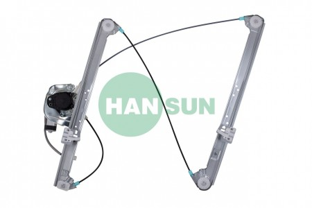 HANSUN 8850-0612 Front Left Side Power Window Motor and Regulator Assembly - 2000-2006 BMW X5 Front Left Side Power Window Motor and Regulator Assembly