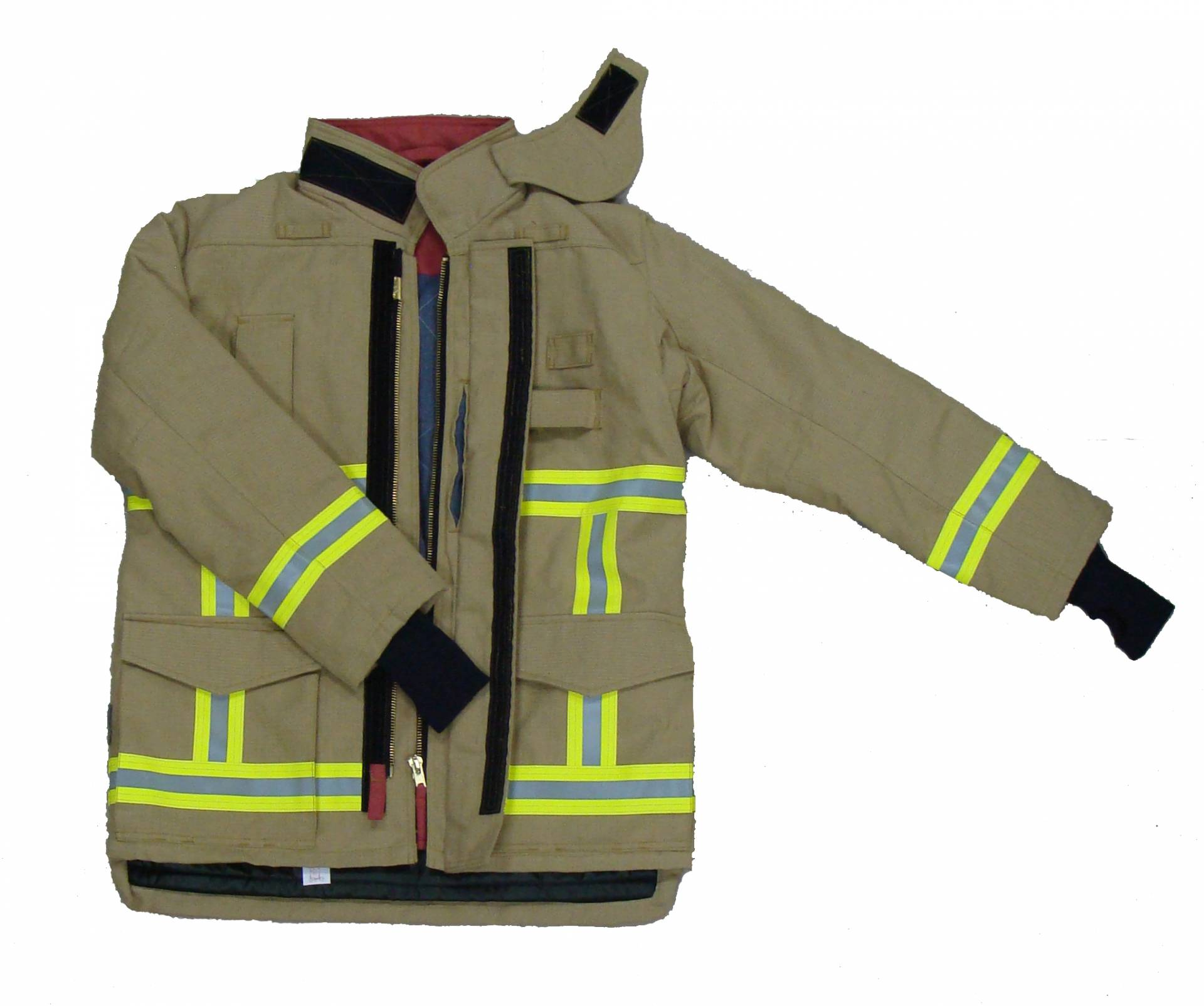 Premium 701-G European style Firefighting Suit, EN469 Level 2, CE certificate, heavy duty to protect firemen