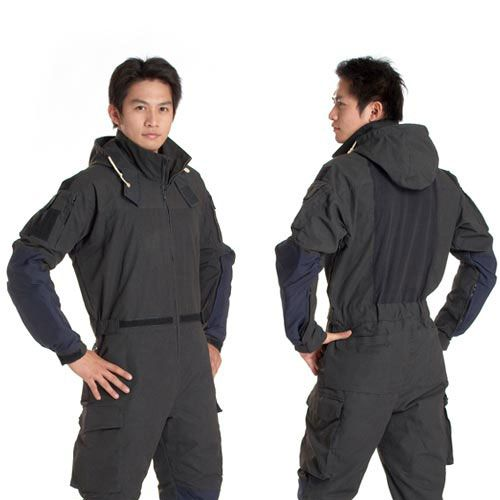 Inherently flame retardant multifunctional garment.