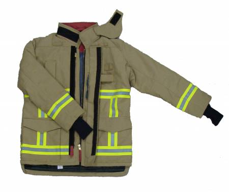 European Style Fire Fighting Suit in SAND YELLOW color - Heavy duty and Comfort
