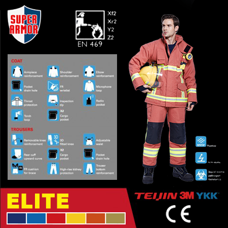 High Performance Turnout Gear
