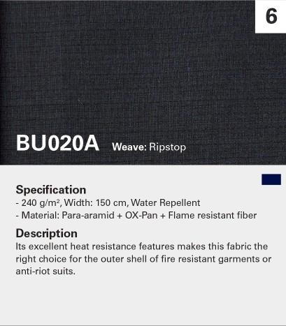KANOX BU020A Fibra oxidada mezclada para una excelente capa exterior