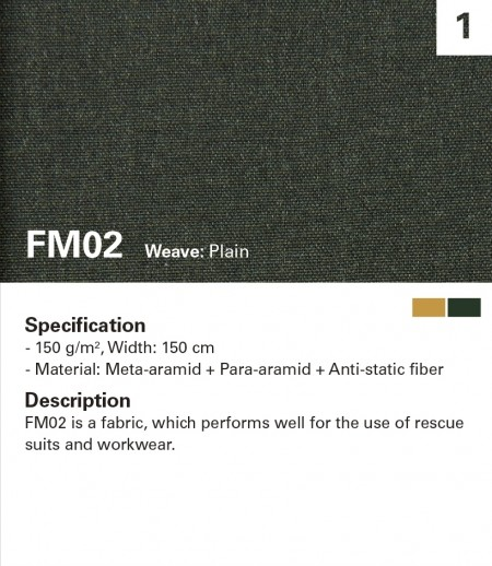 MAZIC FM02 Fire Resistant for light duty or station wear