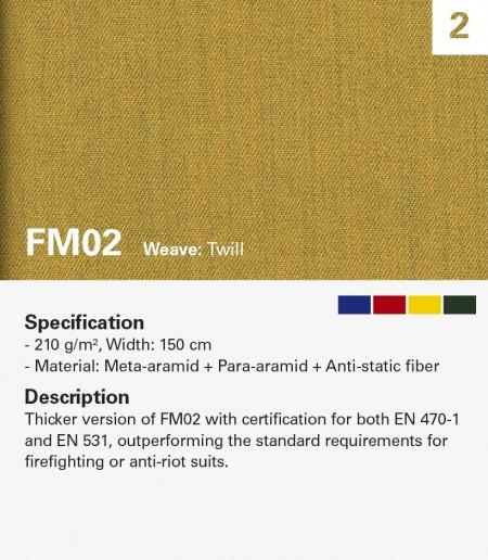 MAZIC FM02 Resistente al fuego para ropa pesada
