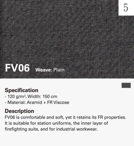 Manta facial de tejido resistente al fuego MAZIC FV06