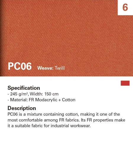 MAZIC PC06 Flame Retardant Fabric