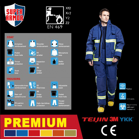 Deluxe Fire Fighting Suit