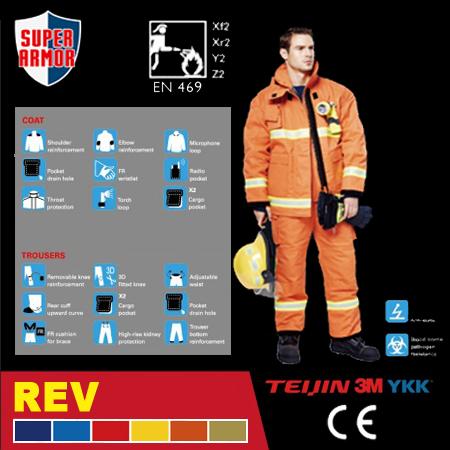 Ultra Light Fire Fighting Suit