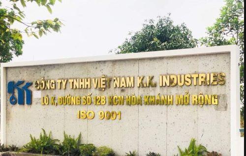 PABRIK BARU: <br />VIETNAM KK INDUSTRIES CO.,LTD <br />Alamat: Lot X, Road 11B, Hoa Khanh Open IP, Distrik Lien Chieu, Kota Da Nang, Vietnam