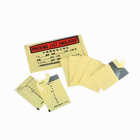 Envelopes de lista de embalagem
