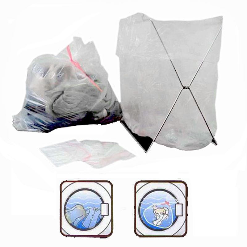 Sacos de roupa solúveis em água