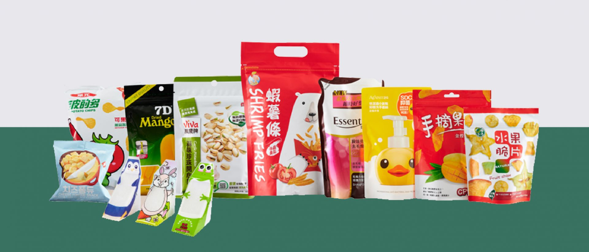 FLEXIBLE PACKAGE FOR FOOD