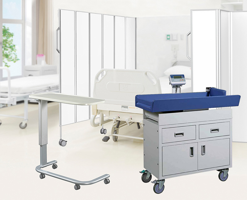 Offering an ideal solution for general ward use with multi-functional and durable furniture.