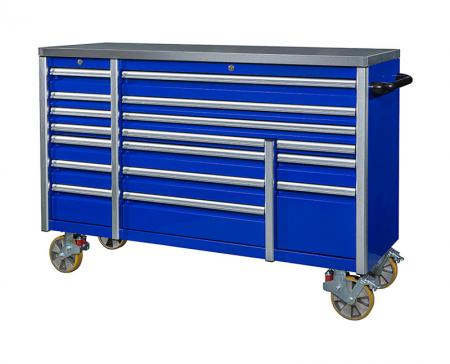 Heavy Duty Tool Storage / Equipment - Drawer Roller Cabinet (ASTOR 72IN 17)