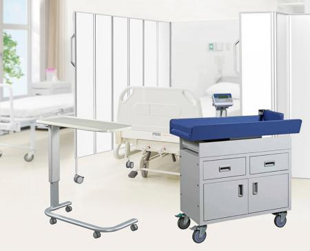 Ward, Clinical & Theatre Furniture - Offering an ideal solution for general ward use with multi-functional and durable furniture.