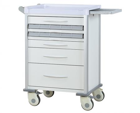 Medication Cart - Assisting hospital staff to organize the medicine in mobile storage.