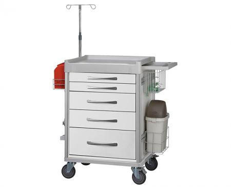 Treatment / Procedure Carts - Essential for hospital personnel transport general medical supplies within the hospital.