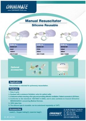 Silikon do resuscytatora wielokrotnego użytku