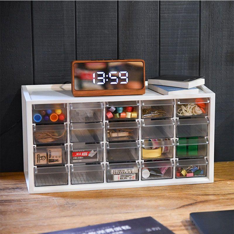 Plastic Craft Organizer with Drawers