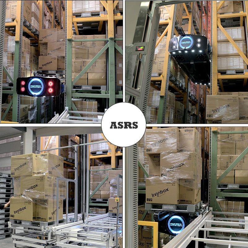 Hệ thống lưu trữ và truy xuất tự động (ASRS)