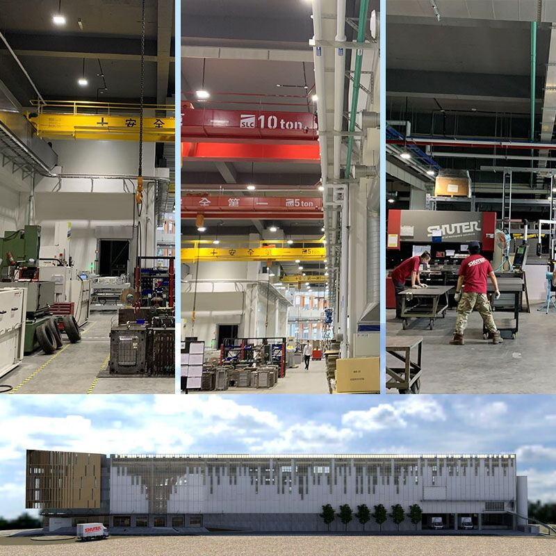 Production factory & Tourist factory