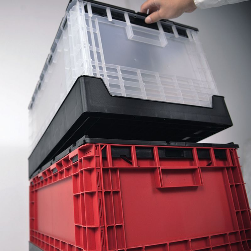 Stackable shipping tote
