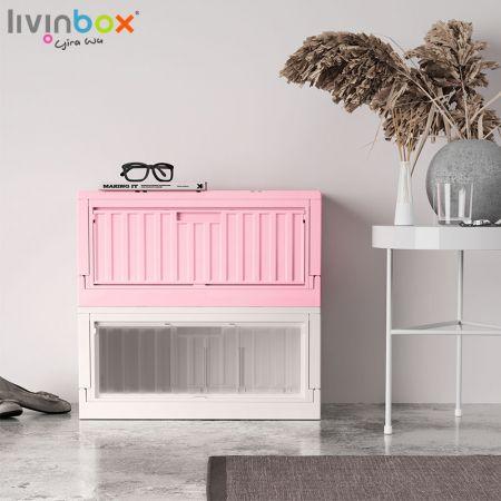 livinbox plastic folding storage box