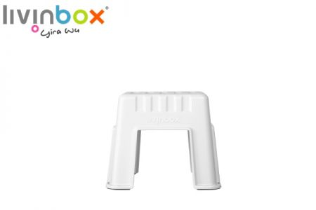 Stackable Small Stool - Small Stackable Step Stool, Garden Stool, Outdoor Stool