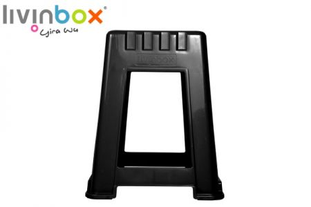 Stackable Step Stool - Stackable Step Stool, plastic stool