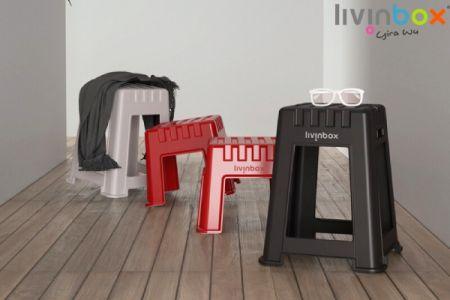 Plastic stool, Garden stool, Outdoor stool