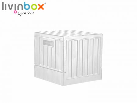 23L Collapsible Plastic Storage Container with lid - 23L Collapsible Plastic Storage Container with lid