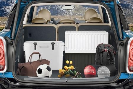 CARGO large collapsible trunk (45L volume).