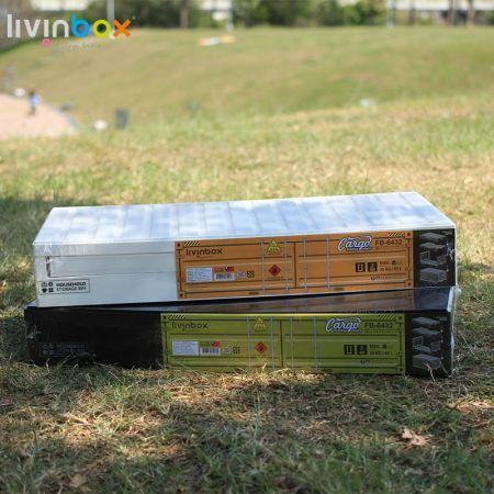 45L folding storage bin