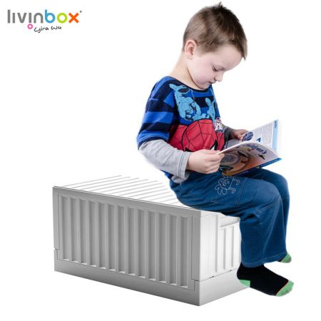 45 plastic storage bin can be a chair