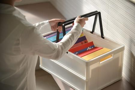 Collapsible Crate - Folding Basket, Folding Storage, Folding Crate