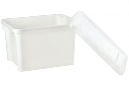 Große Stack & Nest Aufbewahrungsbox - 28 Liter Volumen - Große Stack & Nest-Aufbewahrungsbox (28 l Volumen).