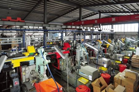 livinbox plastic injection machinery line