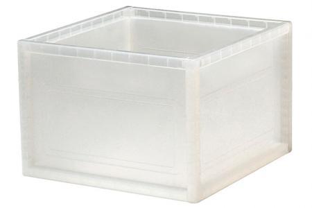 Large INNO Cube 1 for Storage - 27.7 Liter Volume - Large INNO Cube 1 for storage (27.7L volume) in clear.