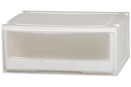 Box Drawer (Series 2) - Single Tier - Single tier box drawer (Series 2) in clear.