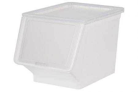 Breiter Pelican Stack & Nest Vorratsbehälter - 23 Liter Volumen - Breiter Pelican Stack & Nest Vorratsbehälter (23 l Volumen) in klar.